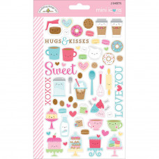 Doodlebug Cream and Sugar, Mini Icons