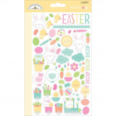 Doodlebug Easter Express Stickers