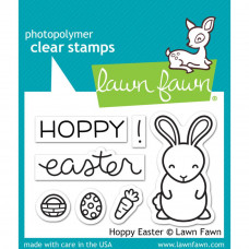 "Lawn Fawn Clear Stamps 3""X2"" Hoppy Easter"
