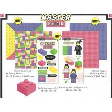 Scrapbook Customs Master Builder, Building Block Bundle, Girl