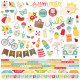 Simple Stories Summer Days Cardstock Stickers