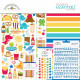 """Doodlebug Essentials Page Kit 12""""X12"""" So Much Pun"""