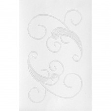 Queen & Co Stick-Ems Clear Double-Sided Stickers- Scroll 1