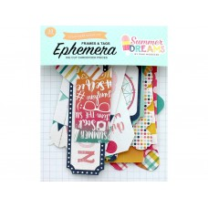 Echo Park Collection Summer Dreams Ephemera Frames & Tags