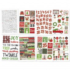 "Simple Stories- Very Merry Stickers 4""X6"" 8/Pkg"
