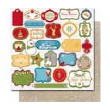 Bo Bunny- Dear Santa Gift Tag